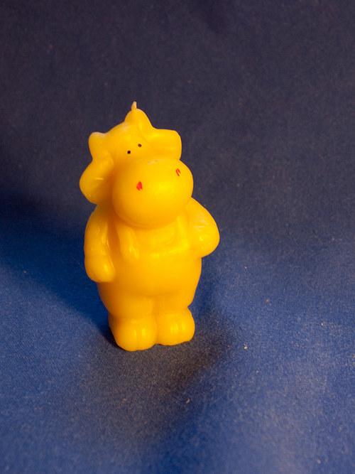 Svíčka ze včelího vosku - kravička