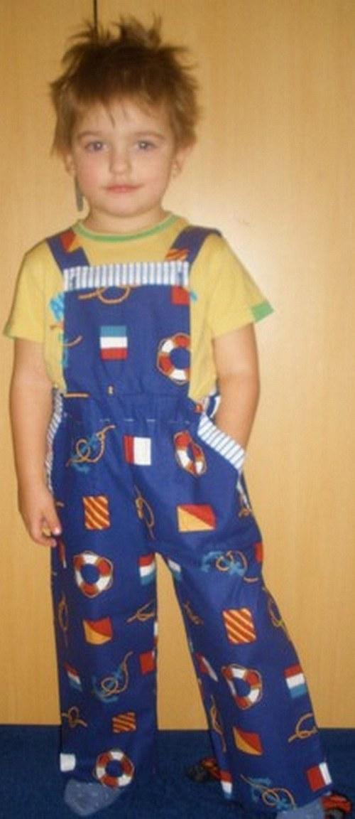 Plátěné kalhoty
