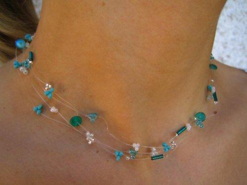 Zelený set šperků