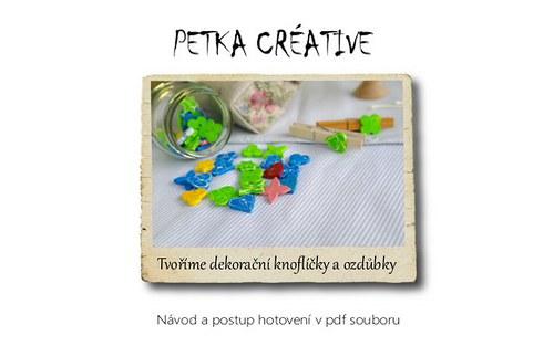 Tvoříme dekorační knoflíčky a ozdůbky