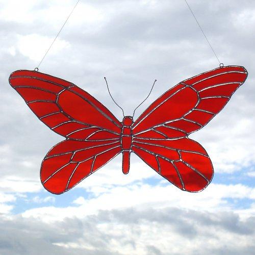 Červený motýl