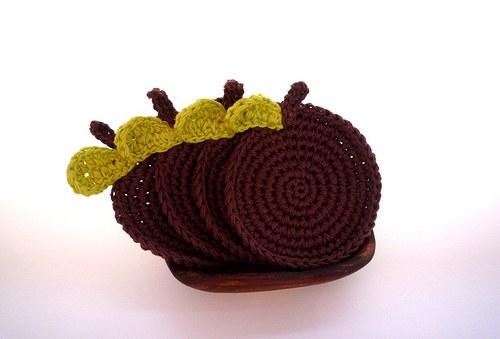 Chocolate Apples - Podložky pod hrníčky 4ks