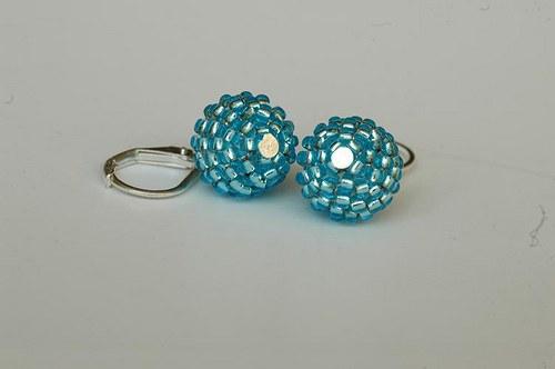 Zářivě modré mini