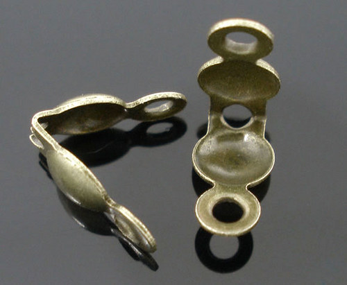 Kalota/ bronz/ 8x4mm/ 50ks