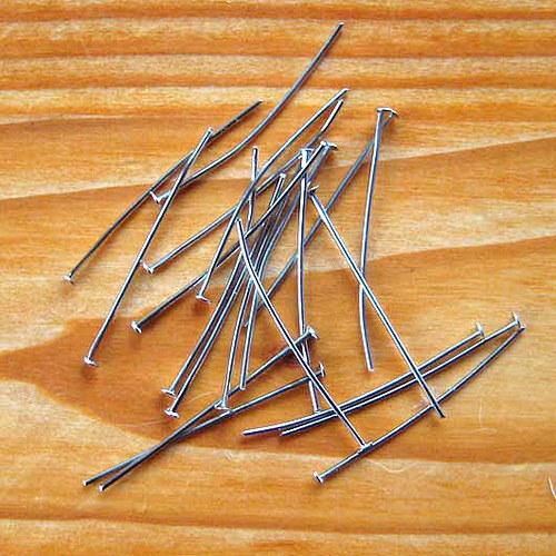 Hřebík 3,5 cm - 50ks - Platinový