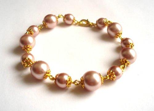Náramek Light Pink Gold