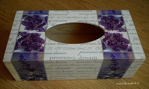 Krabička na papírové kapesníky