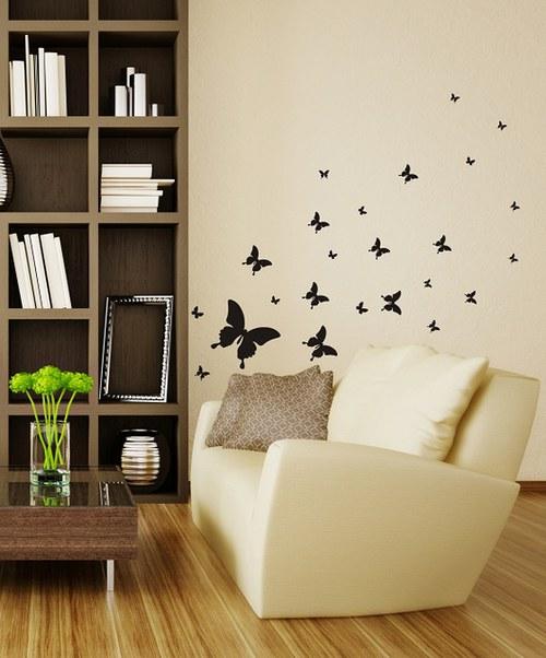 Samolepíci dekorace na zeď Malé motýle