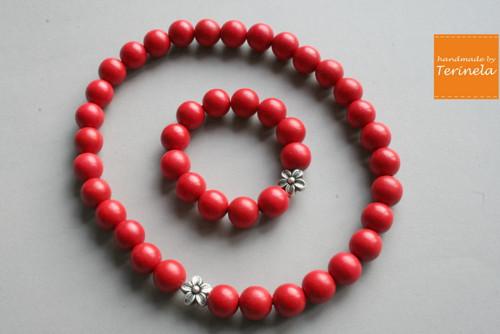 Sada Korálky rozmilé - náhrdelník a náramek ©