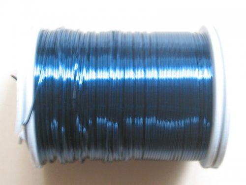 drátek 0,6 mm modrozelená  barva