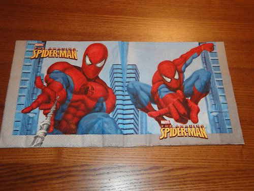 Ubrousek na decoupage - spiderman
