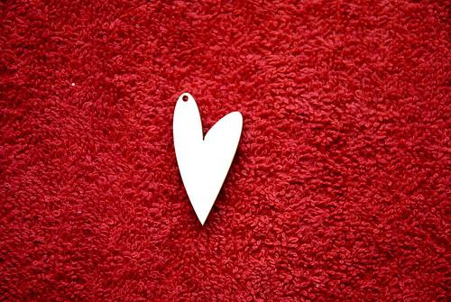 2D výřez přívěsek srdce v.3,8x2cm