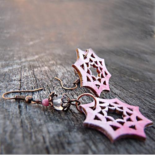 romantické hvězdičky – náušnice