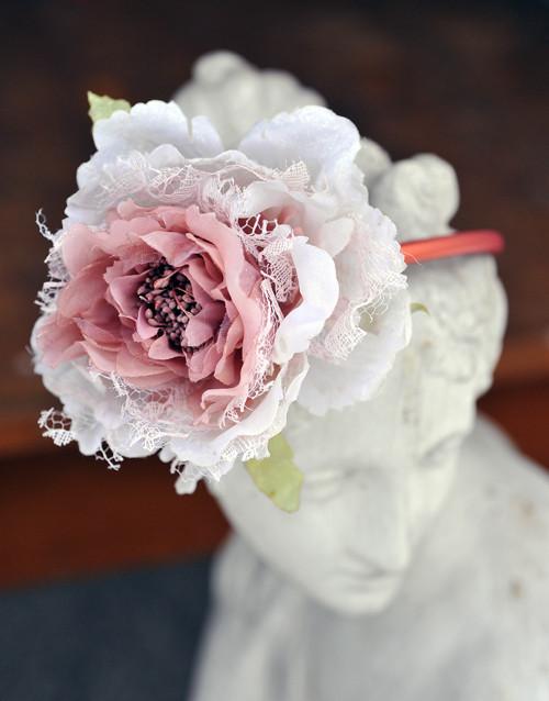 Čelenka růžová H0099P