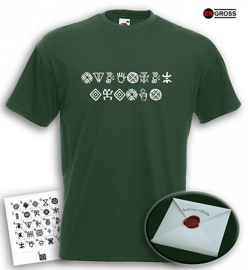 Pánské tričko ŠIFRA - text dle vašeho přání