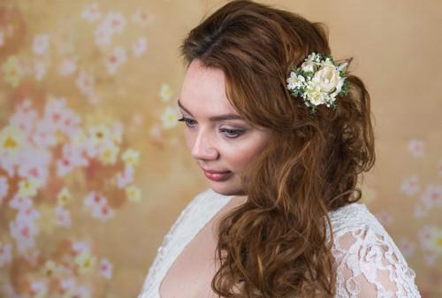"""Spona \""""svatba sněžné víly\"""""""