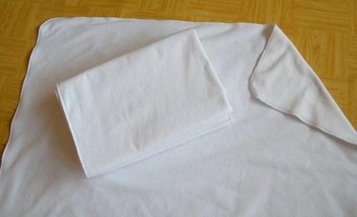 Přebalovací oboustranná podložka 72x72 cm fleese