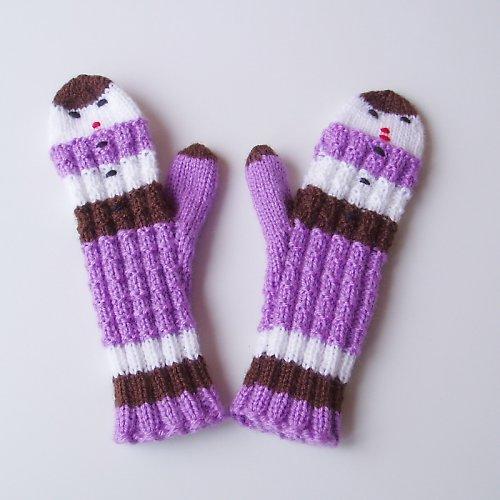 Pletené rukavičky