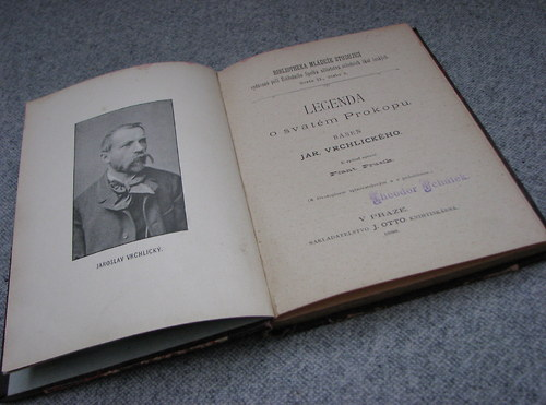 J. Vrchlický, Legenda o S. Prokopu, 1888