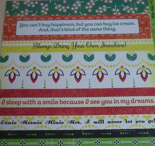 Papír Strip tease - kolekce Hello Sunshine