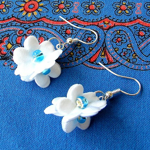 Náušnice květinky.....5