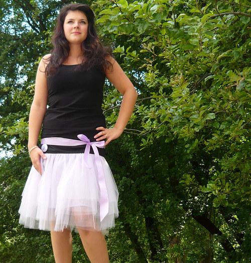 Návod na tylovou sukni