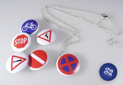 Řetízek - dopravní značka