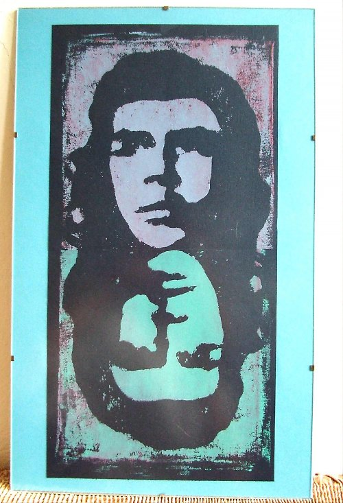 Jim a Che, sítotisky, 45x30 cm