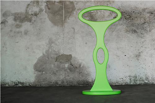 Němý sluha UFO - zelený