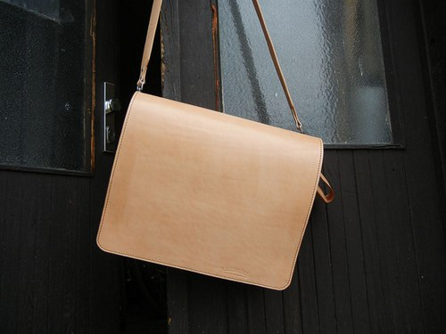 Kožená taška z přírodní kůže na notebook
