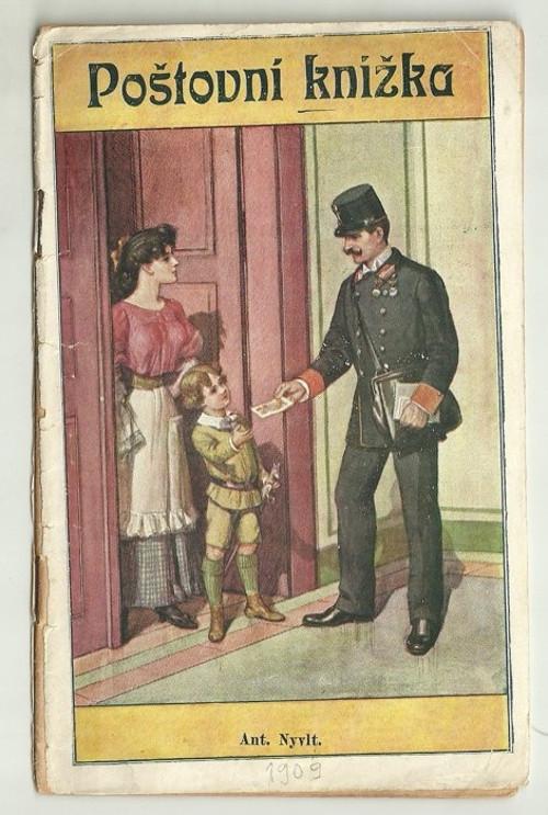 Poštovní knížka 1909