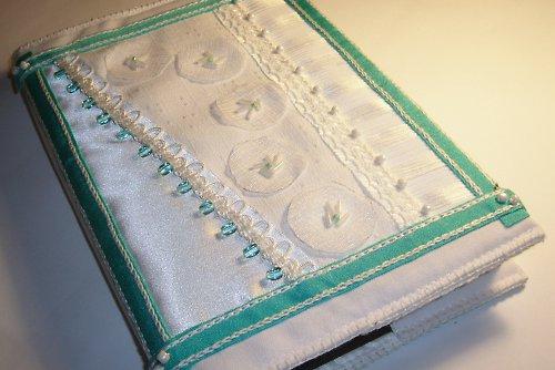textilní obal na knížku