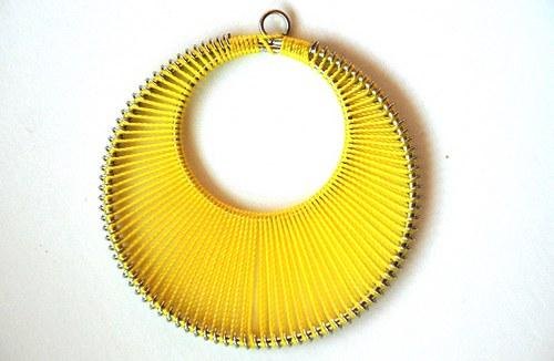 Kolo žluté 62x65mm