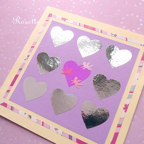 S láskou v srdci  - přání