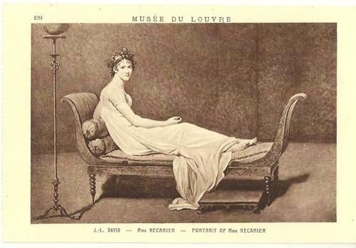 Umělecká pohlednice J.L.David