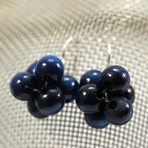 Náušnice Berries Blue