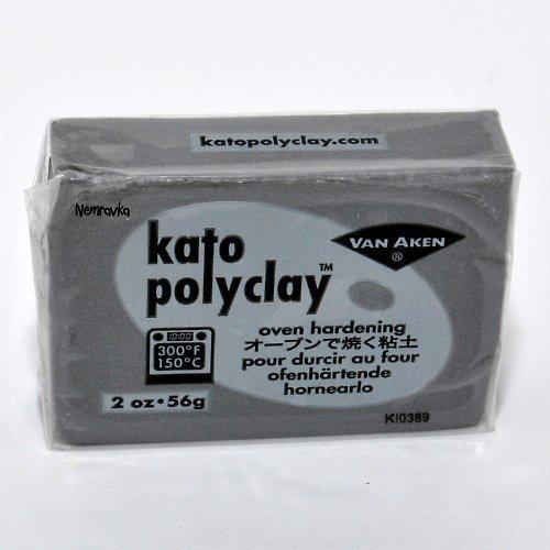 Kato Polyclay / profi polymerová hmota / Stříbr