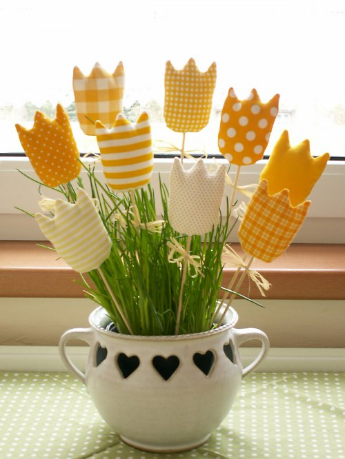 Žluté tulipánky :o)