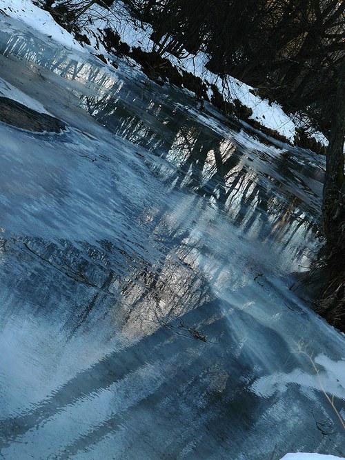 zamrzlé tání