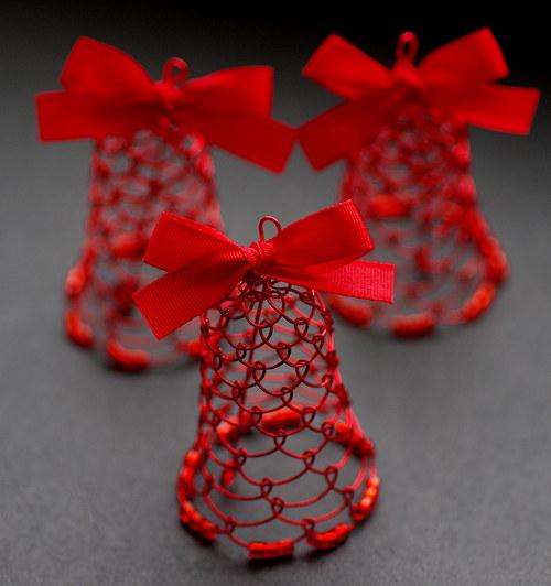 Červený  zvoneček.