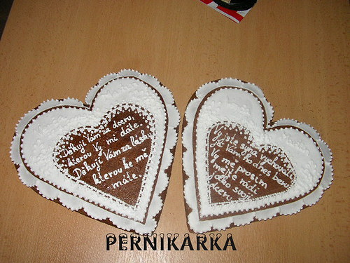 Srdce svatební děkovací