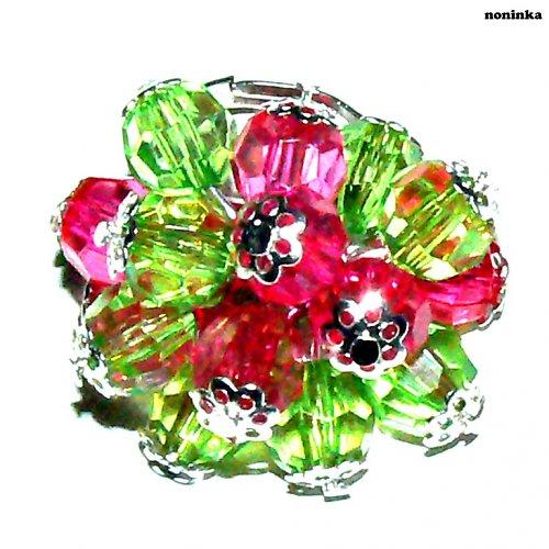 Zeleno-růžový - VÝPRODEJ