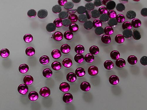 19894-B09 Flitry nažehlovací růžové CYKLÁM