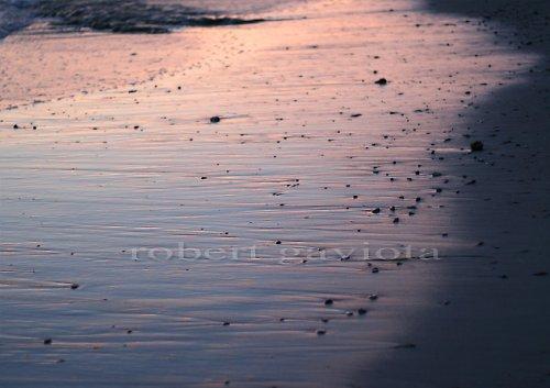 podvečerní pláž