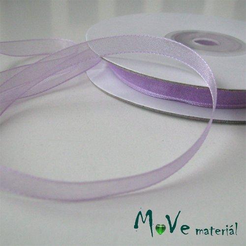 Šifónová stuha sv. fialová 6mm, 1m