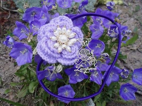 Čelenka - čelenka s perličkami