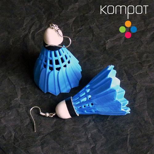 BADMINTON :: modrý (chir. ocel)