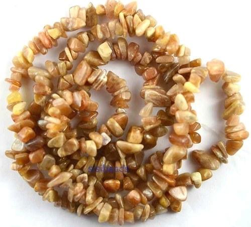 Sluneční kámen - zlomky, cena za 10cm