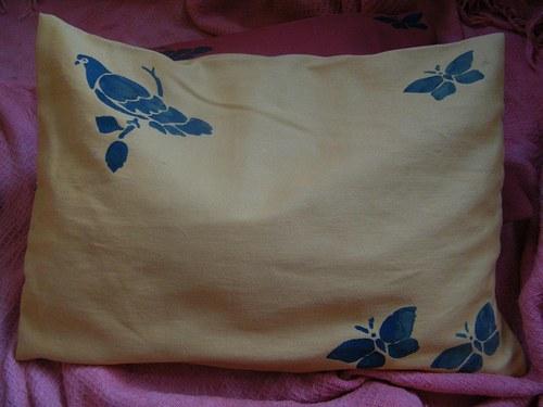 Pohankový polštářek tisk 25x30