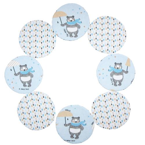 Podložka pod hrnek - modrý medvěd